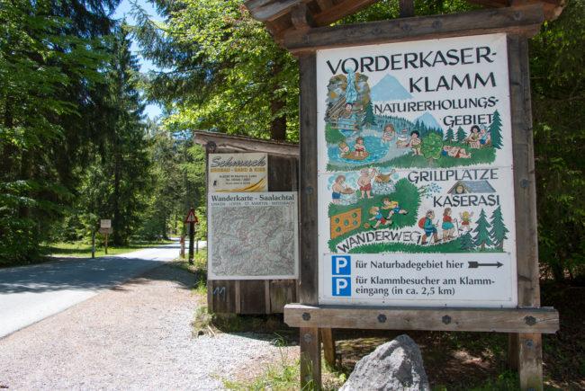 Grillplätze in Salzburg_Vorderkaserklamm