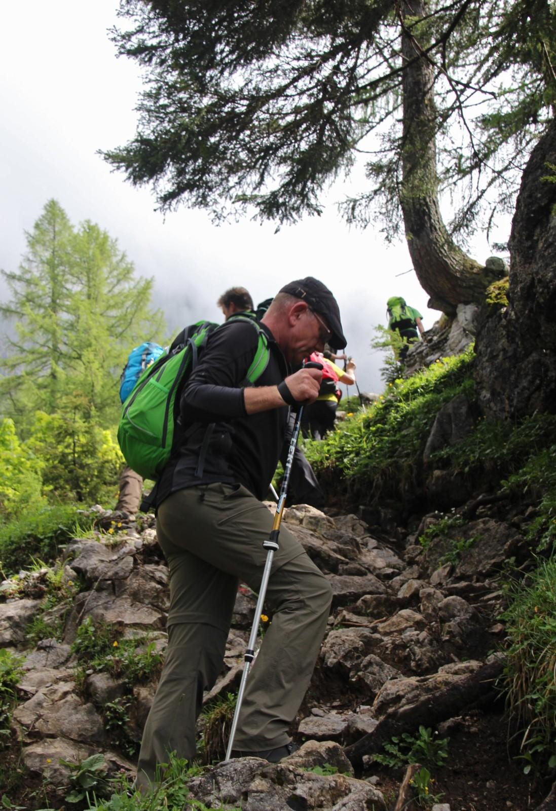 Gemütlich die Bergwelt entdecken