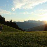 Sonnenaufgang beim Sattelbauer