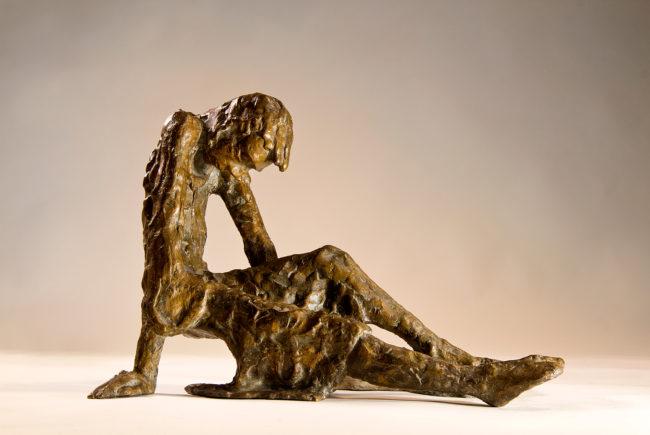 """Die Bronzefigur """"Hiobs"""" stammt aus dem Hause Gruber. (c) Atelier Gruber"""