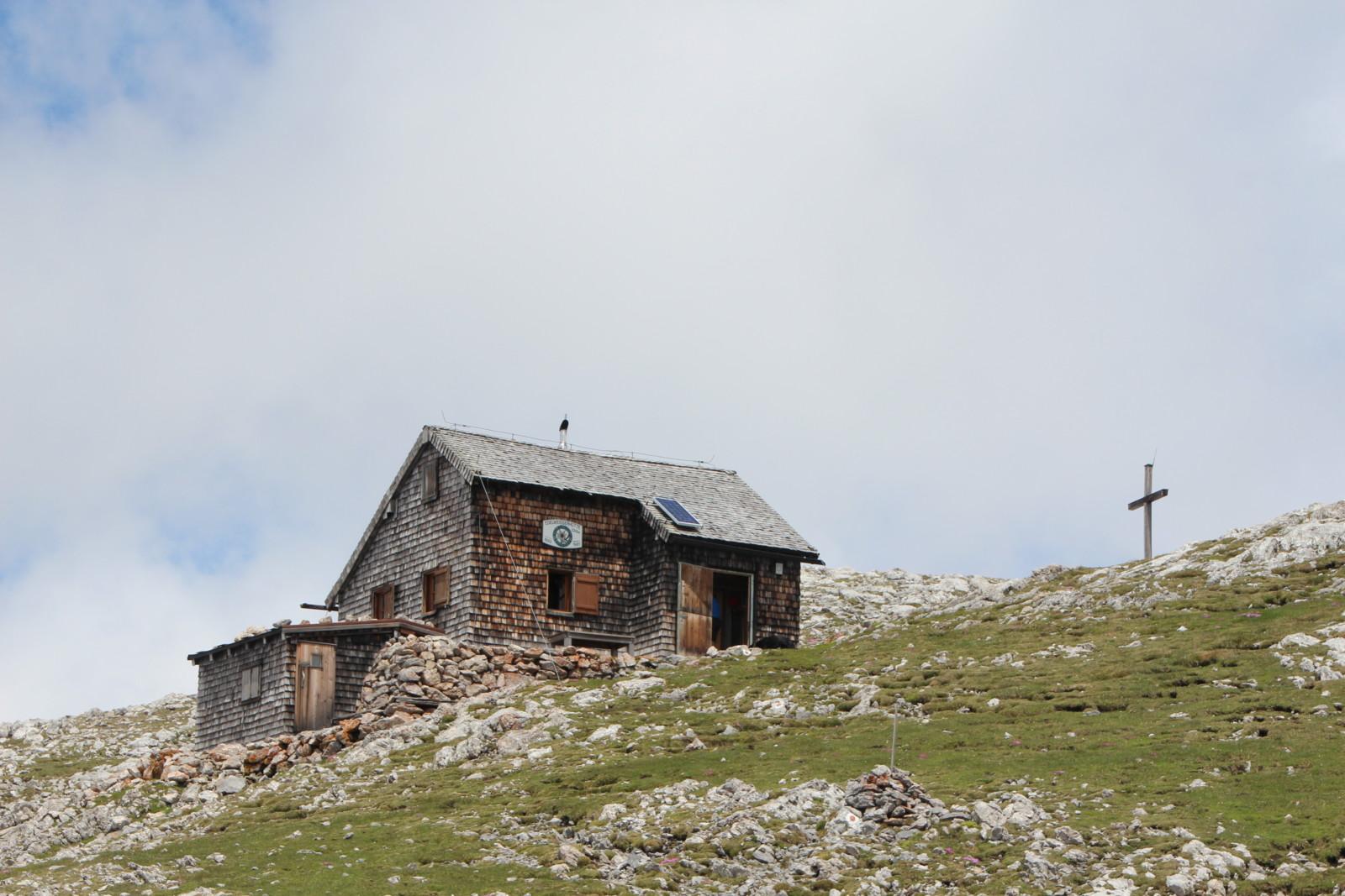 Die Edelweißer-Hütte wäre ein weiteres Ziel im Tennengebirge