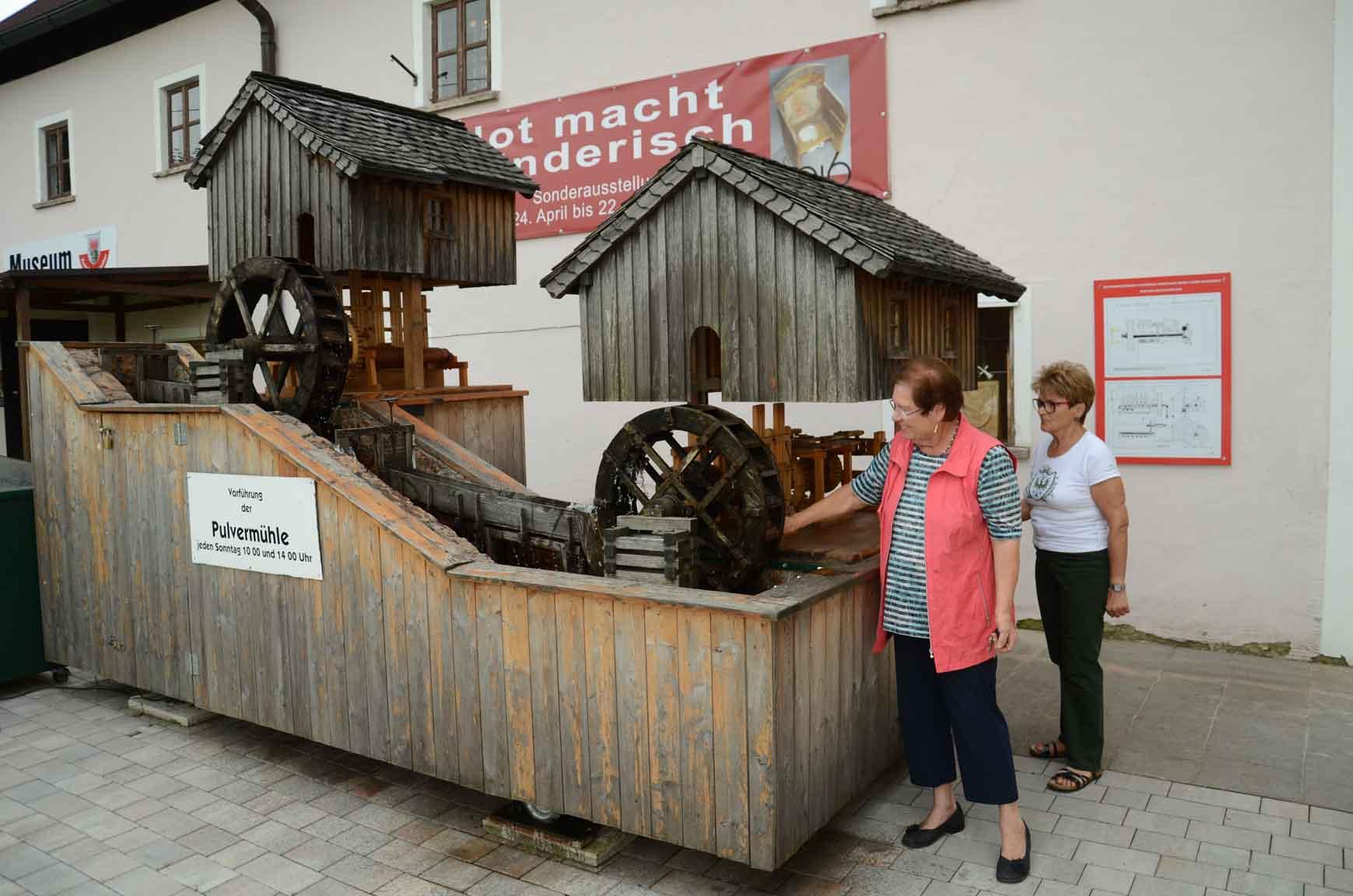 Pulvermühle wurde ...