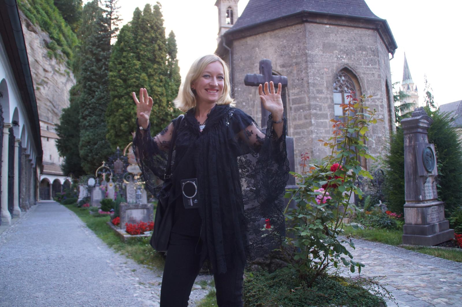 Fremdenführerin Sabine Rath lebt seit 2001 in Salzburg. Sie sagt: