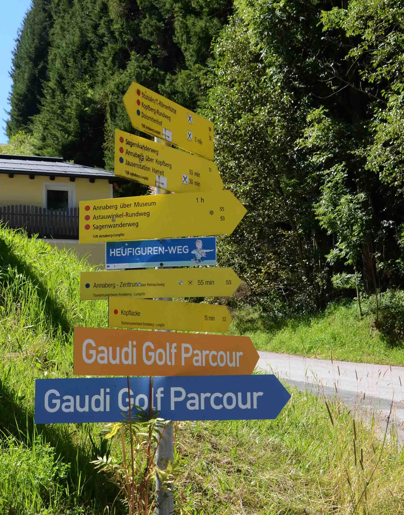 Gaudigolf in Annaberg