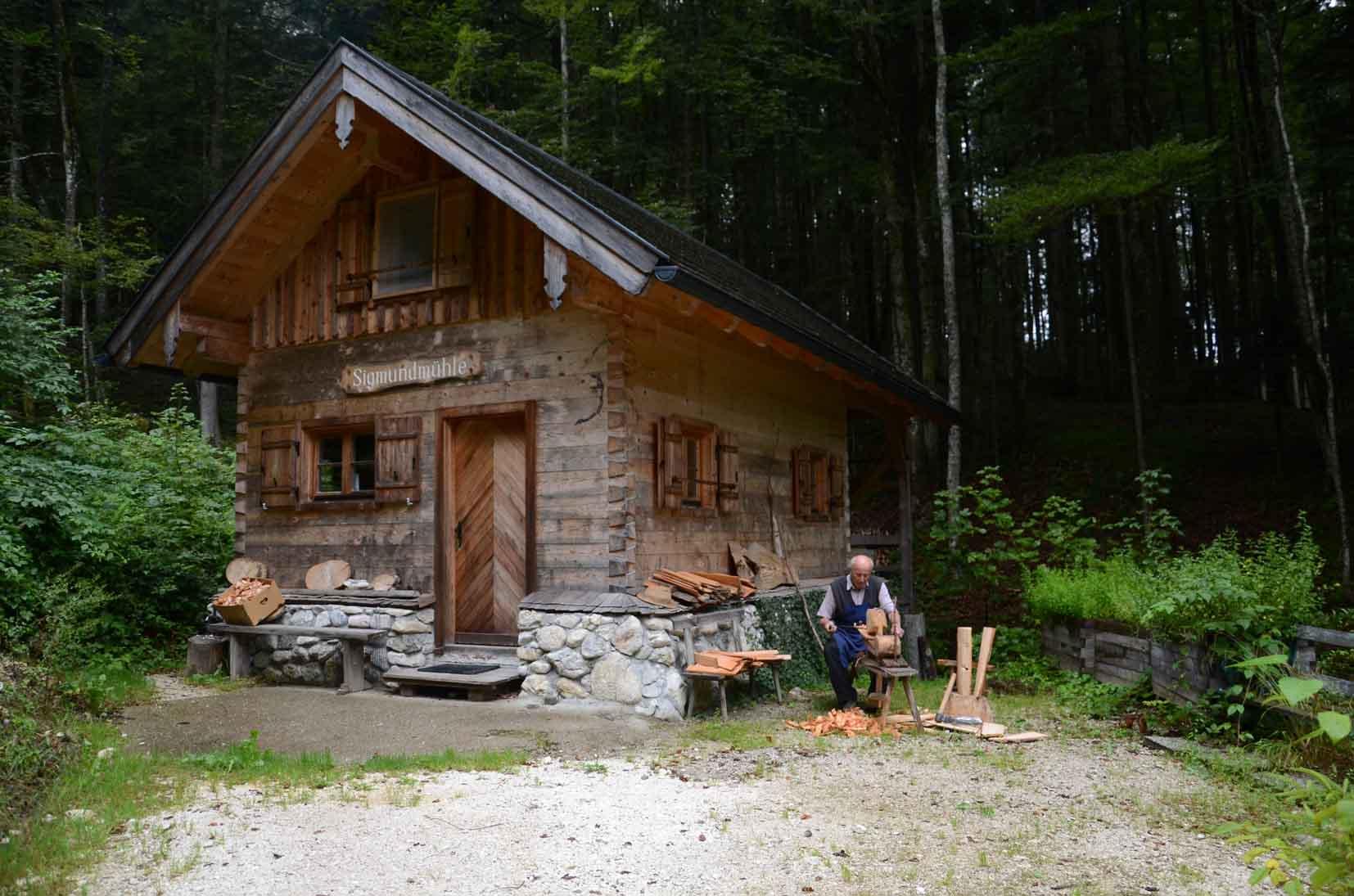 Gemütliche Hütte in der Nähe des Fuschlsees