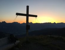 Sonnenaufgang Geierkogel bergsepp