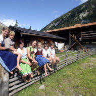 Familie Steger Jaidbachalm