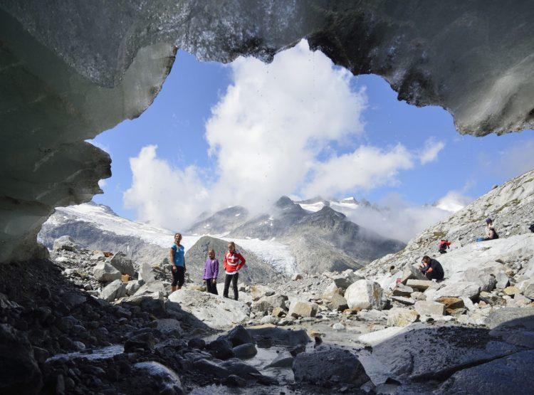 Gletschertor Obersulzbachkees. c Wildkogel-Arena