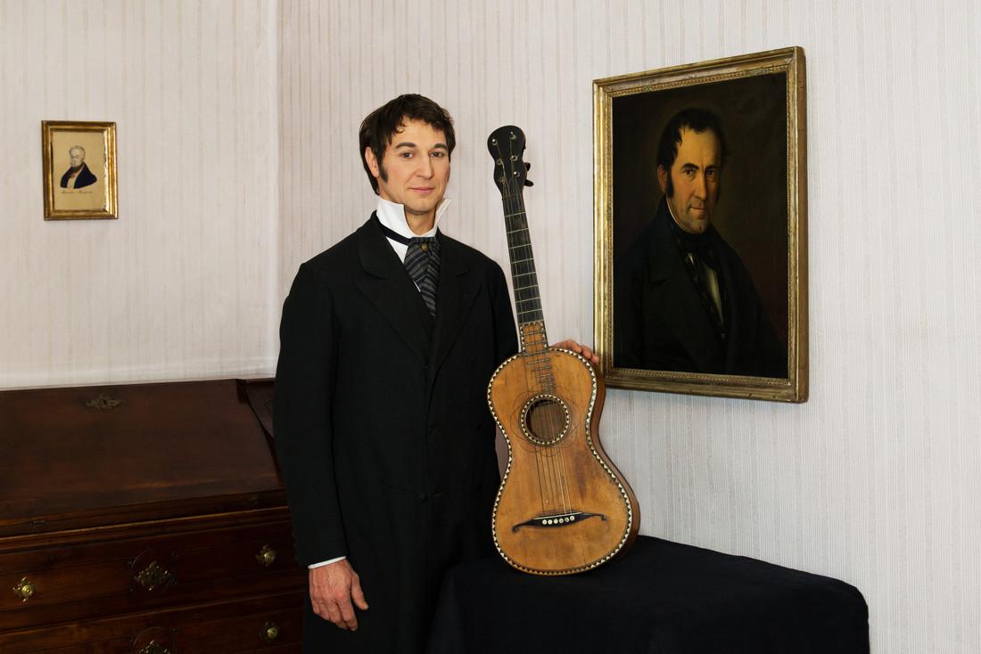 Die Gitarre aus dem Jahr 1818.