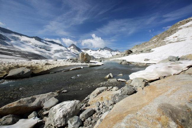 Eisige Zeugen sorgen für Wasserreichtum. c SalzburgerLand Tourismus