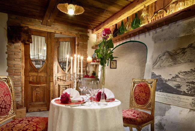 Weinkeller im Metzgerwirt mit Dinner für zwei.