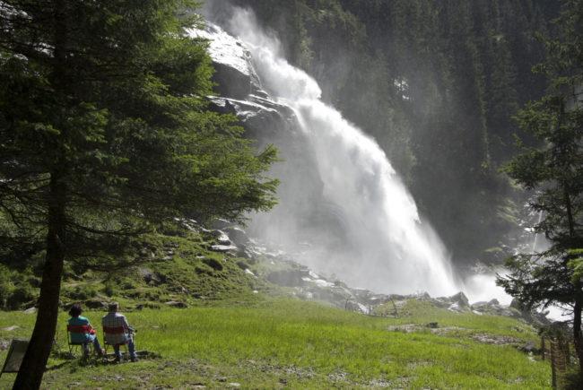 Die Krimmler Wasserfälle – nachweislich heilsam für Asthmatiker. c Claus Muhr/Satel Film 2012