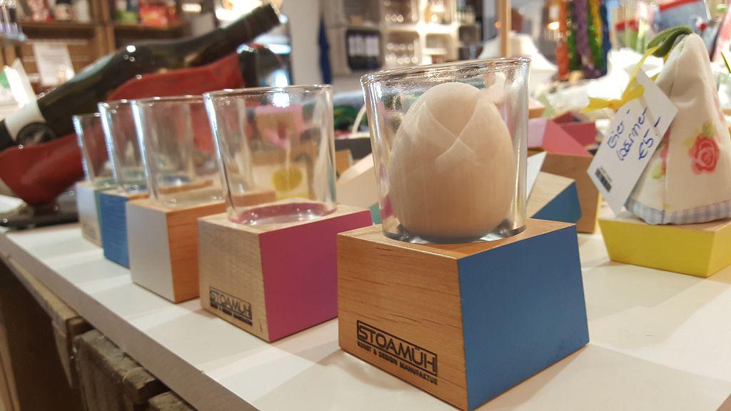 Kreatives aus Holz und Glas von Stoamüh
