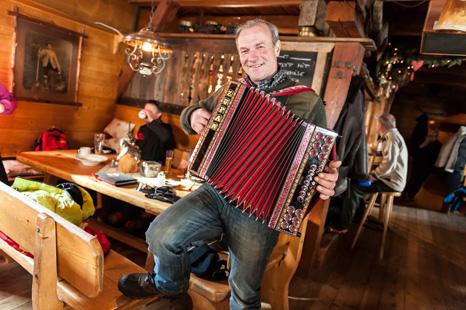 Musik in der Pritzhütte