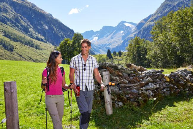 Wandern im Hollersbachtal.