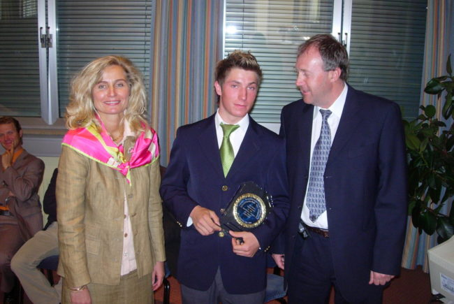 Sportlerehrung 2006 mit MinR Mag.Dr. Reinhold Hawle