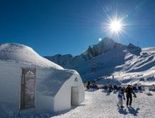 Das Ice Camp 2017 am Kitzsteinhorn.