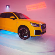 Vegasgelb ist die Farbe des Audi Q2.