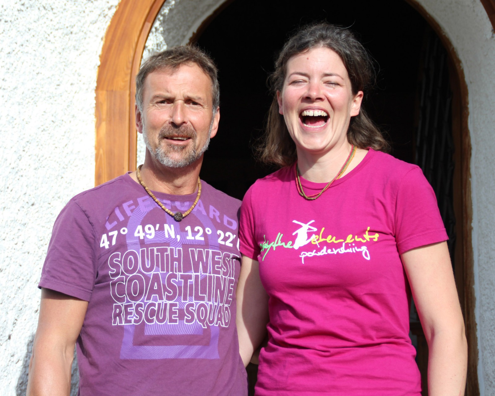 Harald und Babsi, die Pächter der Ost seit Juni 2013