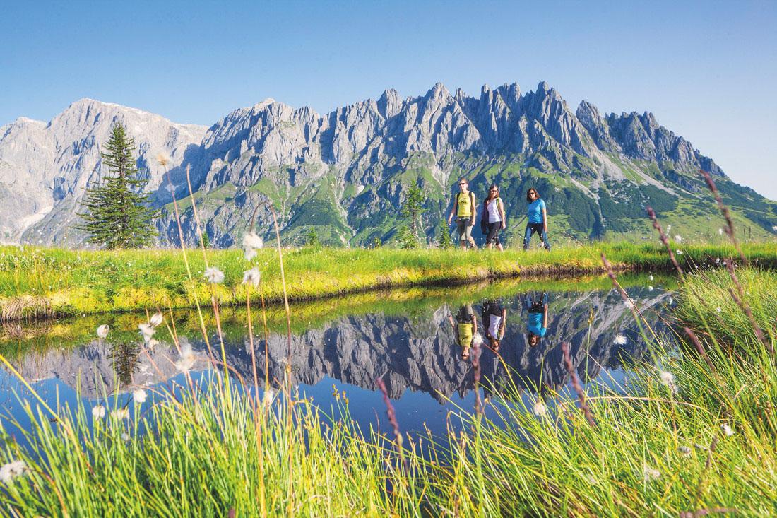 Bergwandern am Hochkönig