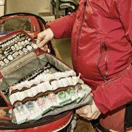 Auch der Notarztrucksack wird täglich gecheckt.