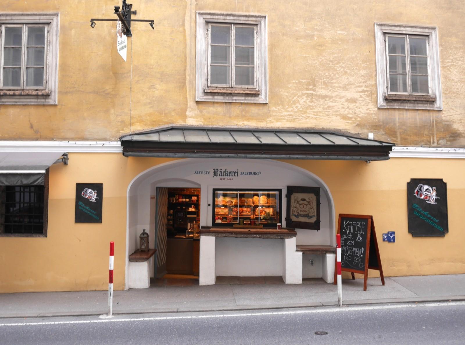 Die älteste Bäckerei...