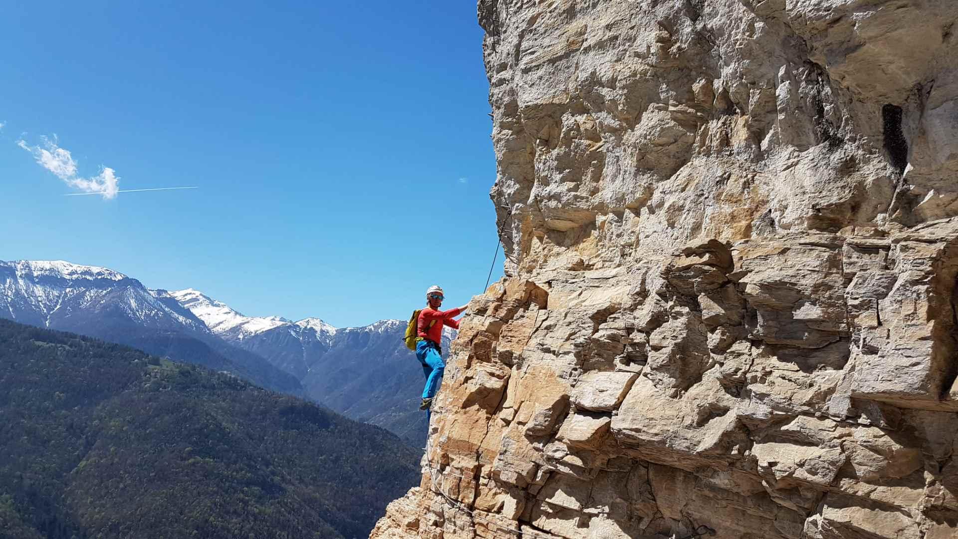 Klettersteig Wolfgangsee : Rinnkogel bergtour salzkammergut wolfgangsee tourentipp