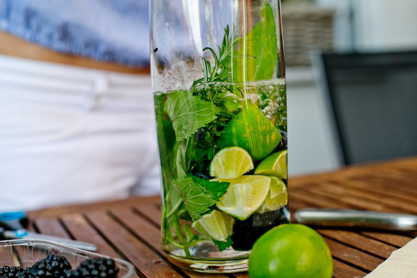 Sommerfrische im Glas