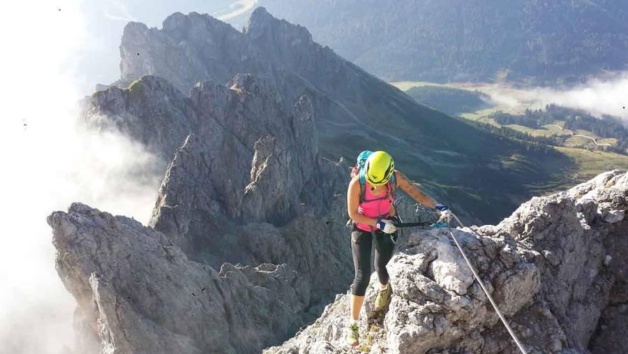 Klettersteig Hochthron : Klettersteige im salzburgerland magazin