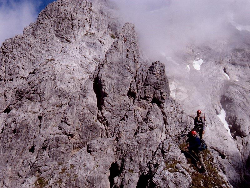 Postalm Klettersteig F Variante : Postalm klettersteig alpenverein