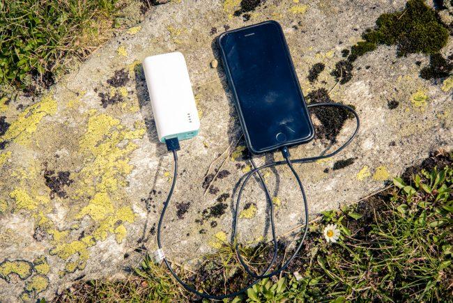 Energieschub für das Smartphone.