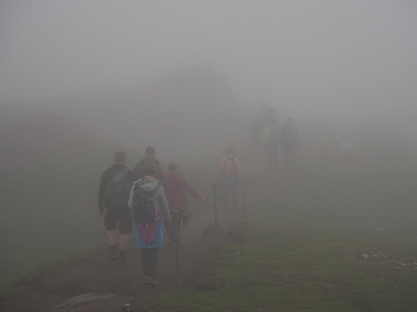 Zurück geht es zur letzten Auffahrt bis auf 3.029 m