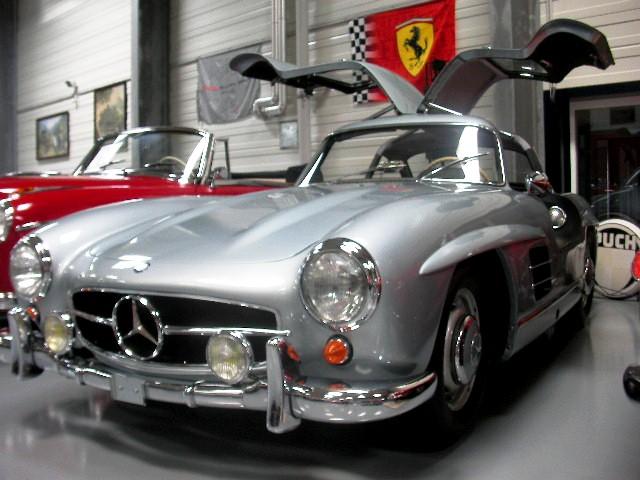 Der Mercedes 300 SL: