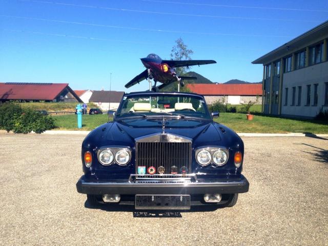 Oben ohne: Der Rolls Royce Corniche Cabriolet