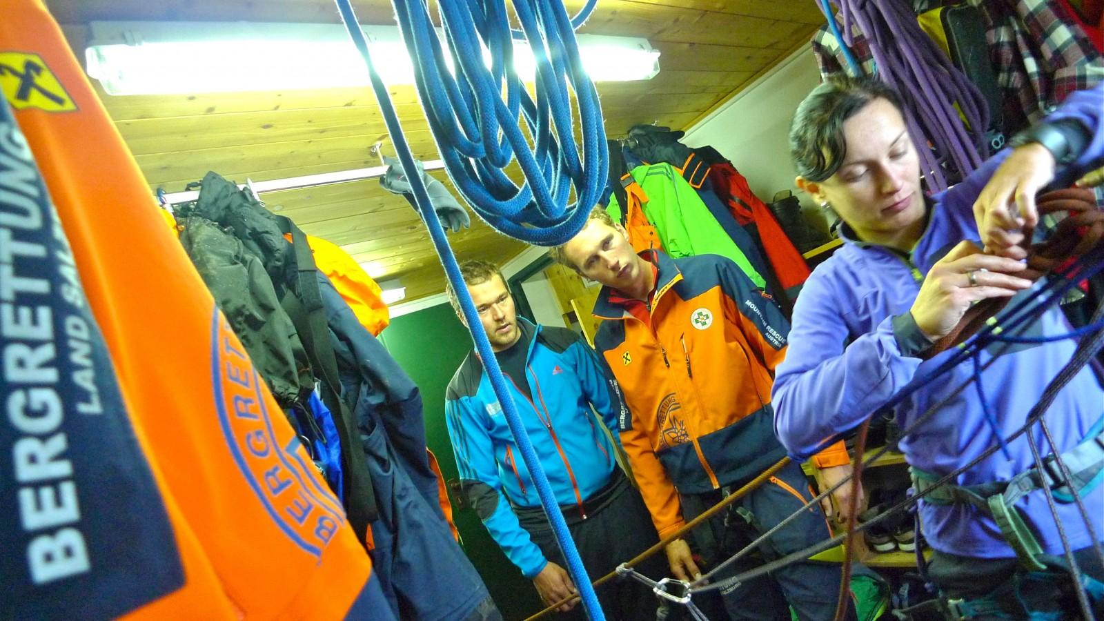 Training Seiltechniken