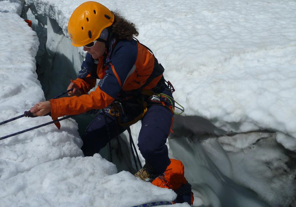 Gletscherspaltenbergung