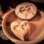 Für Ja-Sager - Ring-Kissen aus Holz