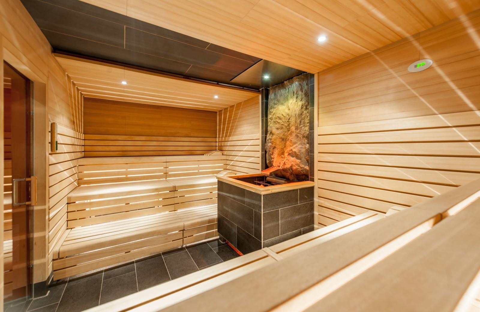 Die Almwiesen Sauna ist eine von insgesamt 10 Saunen