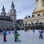 Mozarteis ©PinkWords Blick auf den Salzburger Dom