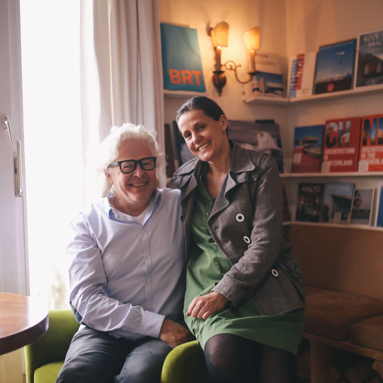Architekt Ike und Hotelchefin Evelyn Ikrath