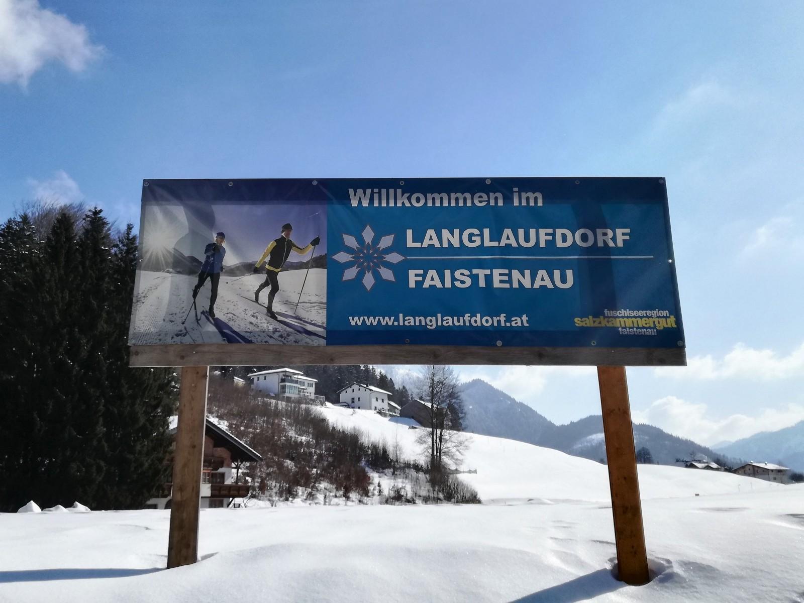Willkommen im Langlaufdorf