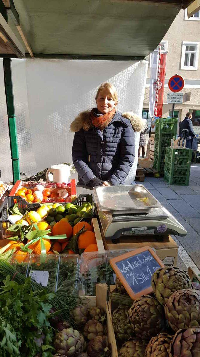Brigitte Voggenhuber, Frischfrucht Salzburg