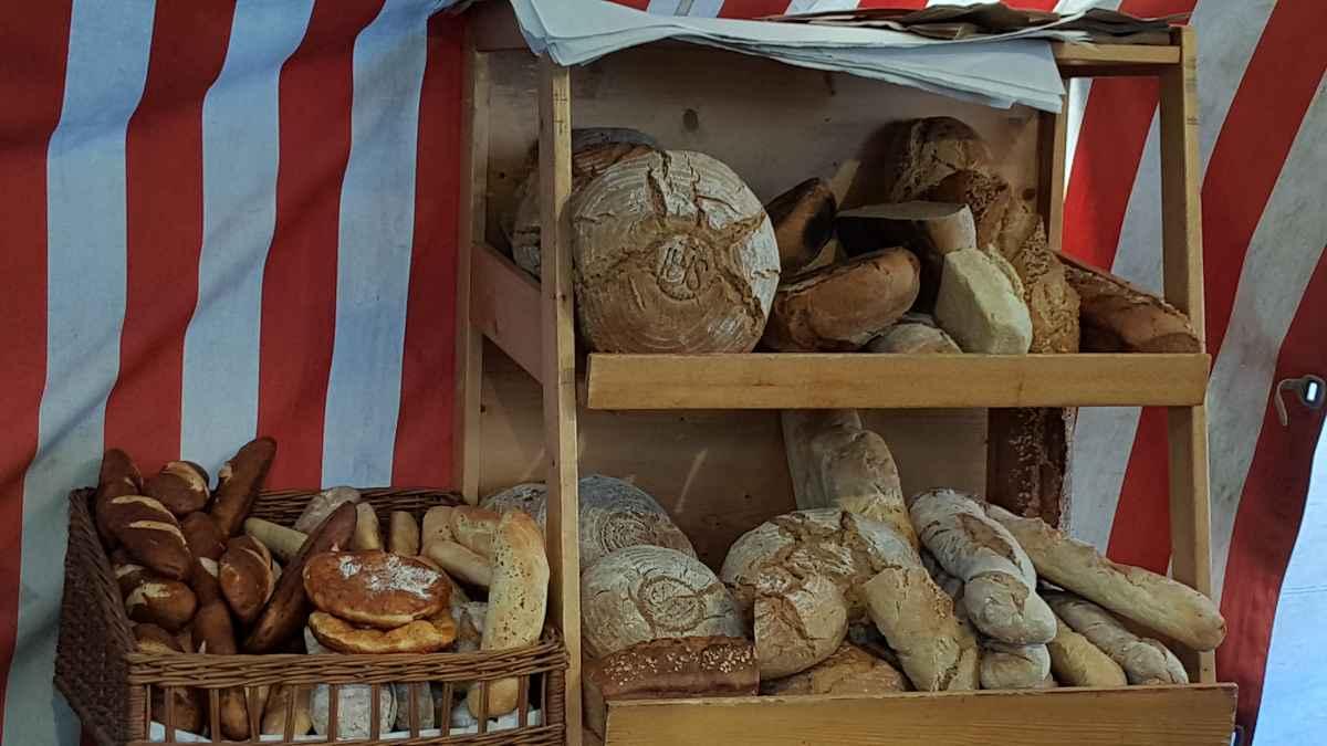 Selbstgebackenes Brot vom Dandlhof