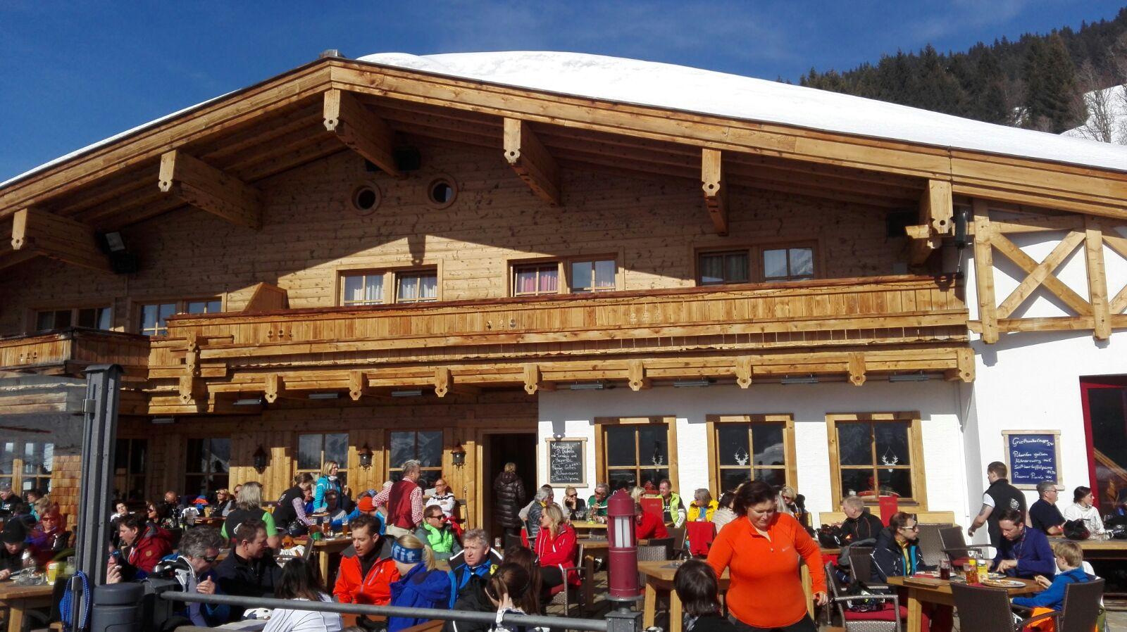 Anziehungspunkt für hungrige Skifahrer