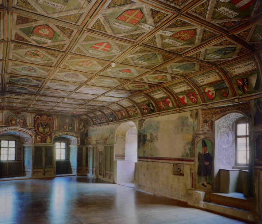 Saal im Schloss Goldegg