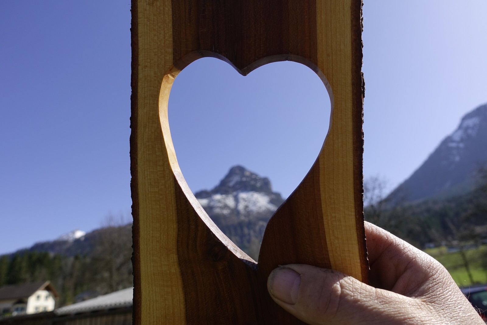 Auch so kann man das Salzburger Land ins Herz schließen