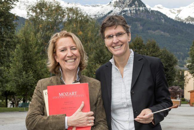 Elisabeth Fuchs mit Bibiana Weiermayer-Schmid