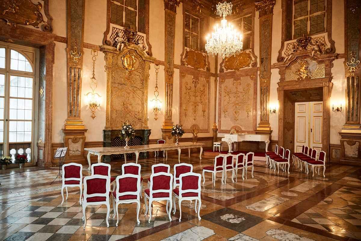 Marmorsaal Schloss Mirabell ©MWS Entertainment GmbH Julian Kroehl