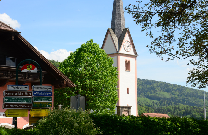 Kirche in Adnet