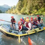 Rafting mit Kindern in Lofer
